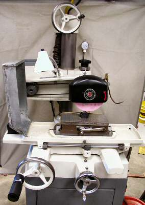 In the small or home metal shop, the surface grinder is most likely found with a 6x12-in. manually actuated table. This means that it can surface a 6 by 12 ...